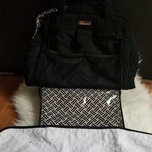 VERA BRADLEY Make A Change Bag CLASSIC Black baby